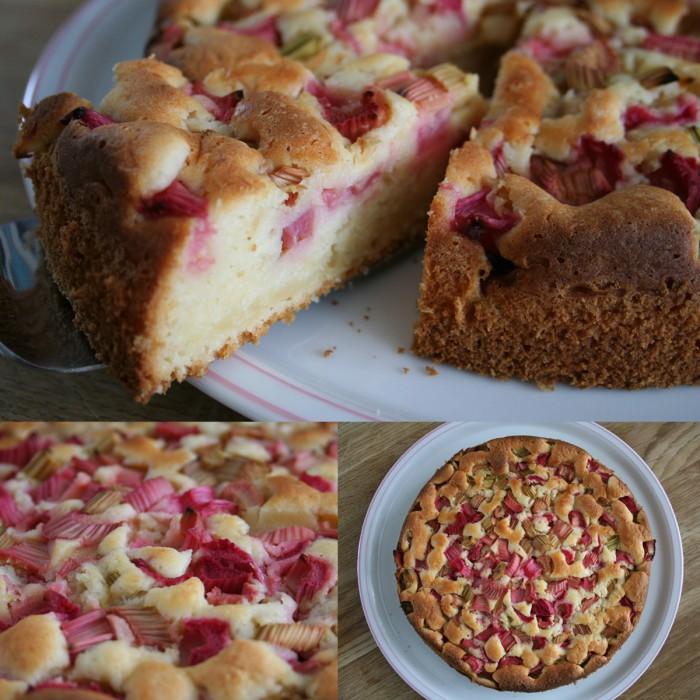 Rhabarber-Jogurt-Kuchen